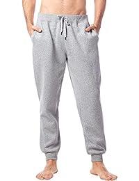 LAPASA Pantalón Deportivo para Hombre, Cintura Ajustable por Cordón y Bolsillos (Tipo Jogger) M22