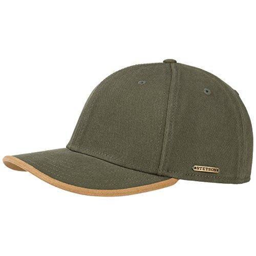 Casquette Baseball Flex Stetson casquette casquette coton Olive