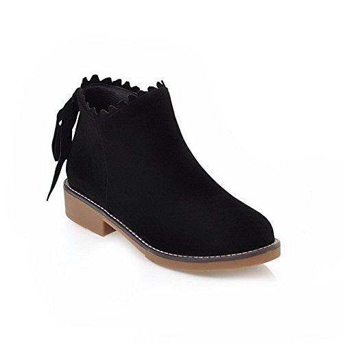 femme Sandales Noir Compensées Abl09882 BalaMasa qRw1A6U
