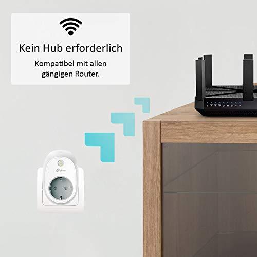 TP-Link HS100(EU) intelligente WLAN Steckdose (funktioniert mit Amazon Alexa [Echo, Echo Dot], mit App Steuerung überall und zu jeder Zeit) - 2