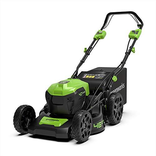 Greenworks Tools 2506807 Cortacésped de 46 cm Brushless con tracción
