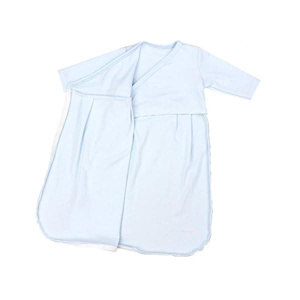 TupTam Saco de Dormir Bebé con Cremallera y Mangas Largas