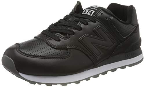 New Balance 574v2, Zapatillas para Hombre, Negro Black/White Black/White, 42 EU