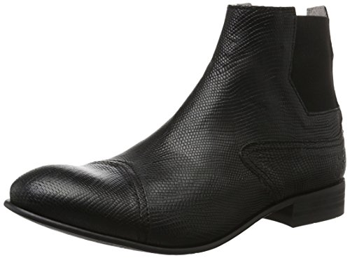 FLY London Shey002fly, Bottes Chelsea Homme Noir (Black 003)