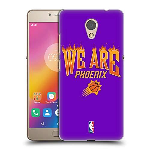Head Case Designs Offizielle NBA Suns We Are Phoenix 2018/19 Team Slogan 2 Harte Rueckseiten Huelle kompatibel mit Lenovo P2 / Vibe P2