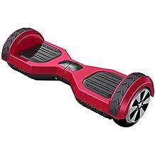 """Freeman F10 - Patinete electrico de 250W con bateria Samsung con certificado UL2272, ruedas de 6.5"""", color Rojo"""