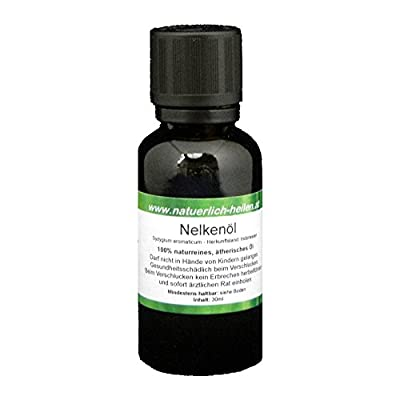 Ätherisches Nelkenöl 100% naturrein 30ml