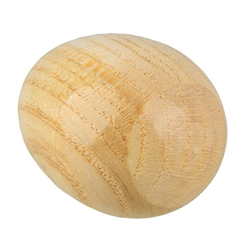 SODIAL(R) Musical Percussion Instruments Wooden Egg Shakers Rhythm Rattle for Baby Kids Pack of 2