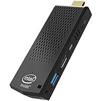 ACEPC Fanless Mini PC, T6 Intel Atom Z8350 Computer Stick con Windows 10 Pro 64 Bit/4GB DDR+64GB eMMC/4K HD/Bluetooth 4.2/Dual Band WiFi AC/USB 3.0