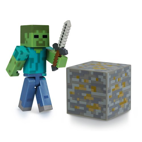 [Epub]Book Minecraft 3-inch Zombie Action Figure