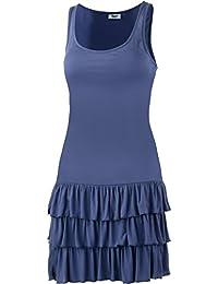 lascana Mujer Tirantes vestido azul Talla:42