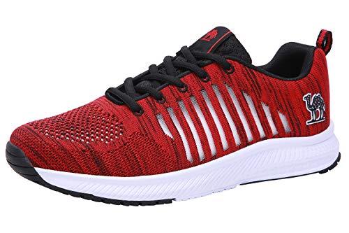 CAMEL CROWN Scarpe da Corsa da Uomo y Donna Scarpe da Ginnastica Scarpe da Allenamento Comode Leggere Sneakers Slip On Scarpe Sportive per Palestra Tennis Trekking Trail