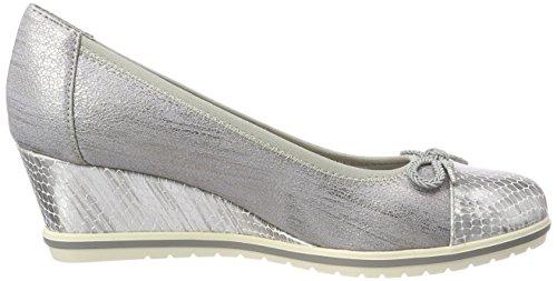 Tamaris 22461, Chaussures Femme À Talon Bleu (steel Str.comb)