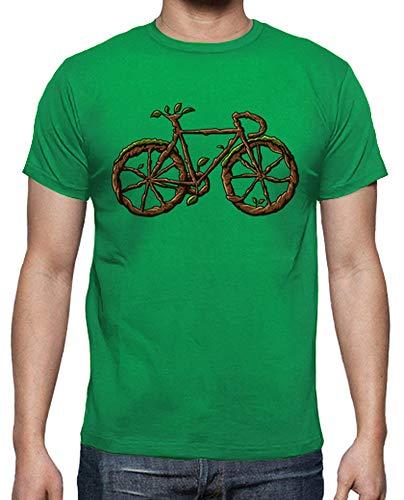 tostadora - T-Shirt Moto Verde - Uomo Verde Prato XL