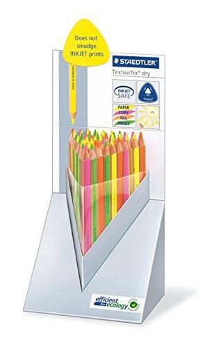 STAEDTLER 128 64KP48 - Expositor 48 lápices fluorescentes