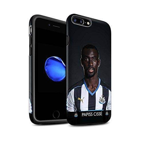 Officiel Newcastle United FC Coque / Matte Robuste Antichoc Etui pour Apple iPhone 7 Plus / Ayoze Design / NUFC Joueur Football 15/16 Collection Cissé