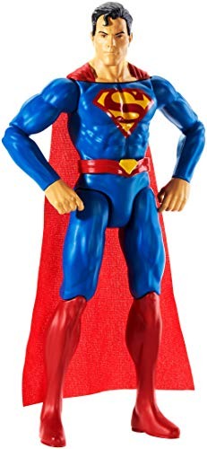 Mattel GDT50 - DC Justice League True-Moves Actionfigur (30 cm) Superman, Spielzeug ab 3 Jahren