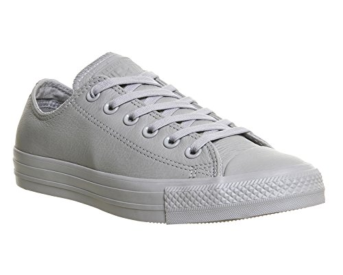 Converse Chuck Taylor All Star Mono Ox, Unisex - Erwachsene Sneaker Grey Mono Exclusive