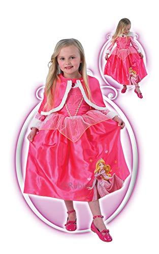 Rubie 's Offizielles Sleeping Beauty Winter Wonderland Kinder Kostüm-Groß (Winter Wonderland Fancy Dress Kostüme)