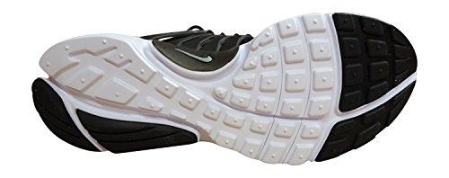 Nike Black / Wolf Grey-White, Chaussures de Sport Garçon Noir (Noir / Gris Loup-Blanc)