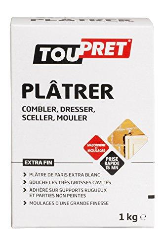 Toupret TP320010-320010 Yeso de París 1 kg
