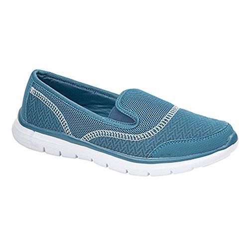 Dek - Chaussures légères décontractées - Femme Bleu Marine