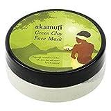 Akamuti - Maschera Viso all'Argilla Verde Purificante Detox Pelle Sensibile ed Impura - 20 gr