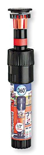 Claber 50813 90220 Microirrigatore Colibrì 180°, Nero/Rosso