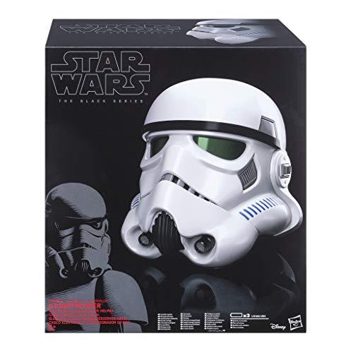 Hasbro B9738EU4 - Star Wars Rogue One The Black Series Imperialer Stormtrooper Helm mit Stimmenverzerrer, Verkleidung