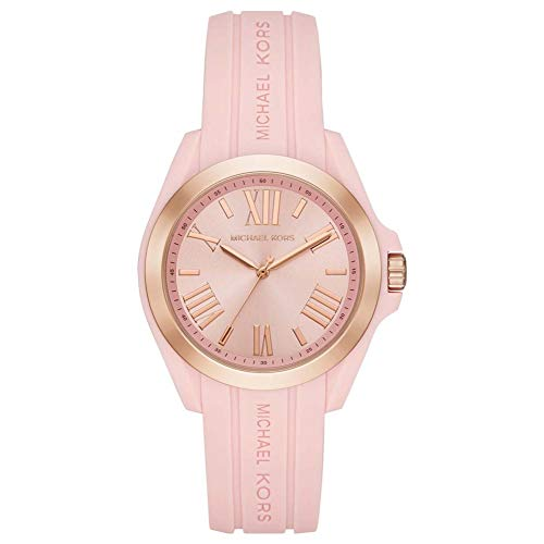 Michael Kors Damen Digital Quarz Uhr mit Silikon Armband 4.05143E+12