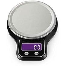 Elenxs Peso de la herramienta 5kg / 1g eléctrico balanza de cocina portátil LCD digital de