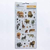 Fun Stickers Zoo Animals