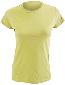 Gildan- Camiseta de manga corta para mujer