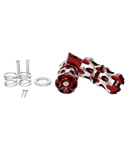 Spedy Red Bikes Foot Rest - Pack Of 2 For Honda CB Unicorn Dazzler