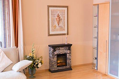 el fuego elektrokamin ay617 mit fernbedienung 1500 watt ventilator. Black Bedroom Furniture Sets. Home Design Ideas