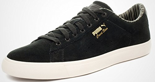 Puma Court Star Vulc Citi, Baskets Noir/Blanc