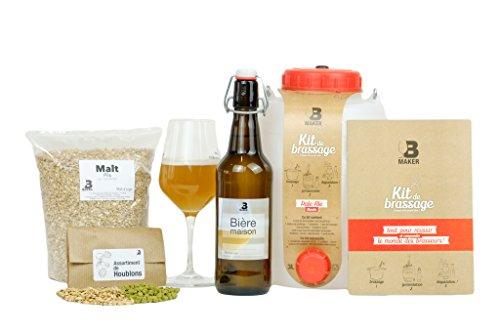 B Maker - Kit completo de elaboración de cerveza artesanal Blonde Pale Ale