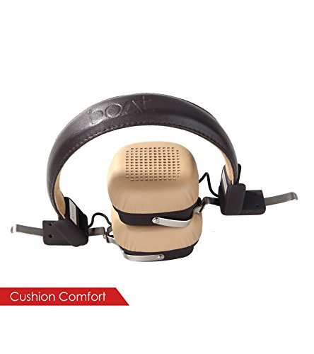 9001f6a6c2c Buy boAt 600 Bluetooth Headphone (Brown) Online at Lowest Price in India