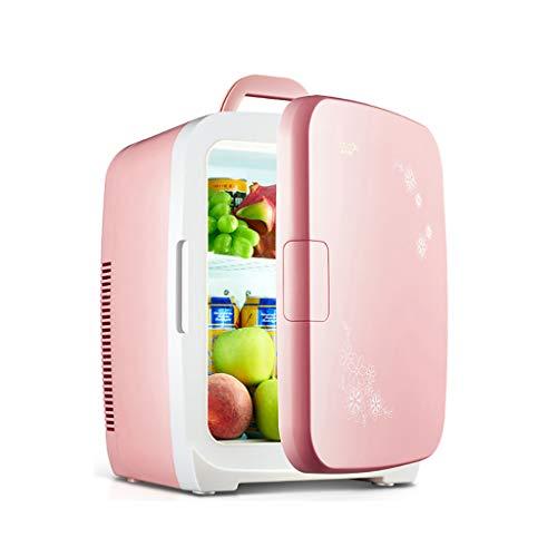 15L Mini Frigorífico Calentador, Refrigerador del automóvil Mini Caja de calefacción y...