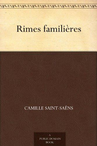 Couverture du livre Rimes familières