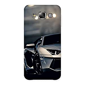 Royal Car Multicolor Back Case Cover for Galaxy E7