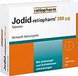 Jodid Ratiopharm 200 µg Tabletten