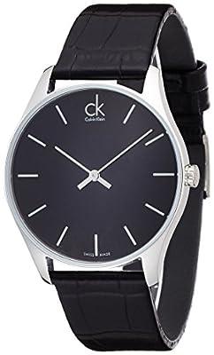 Calvin Klein Hombre Reloj de pulsera analógico cuarzo piel K4D211C1 de Calvin Klein