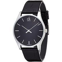 Calvin Klein Herren-Armbanduhr Analog Quarz Leder K4D211C1 - Calvin Klein Cinturini