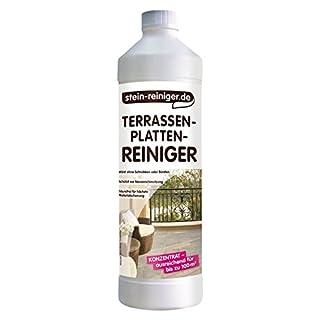 stein-reiniger.de - Terrassenplatten-Reiniger Konzentrat - kraftvoller Reiniger für Terrasse und Balkon 1 Liter