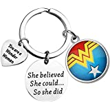 Wonder Woman Jewelry She Believed She Could So She Did Wonder Woman, regalo ispirativo