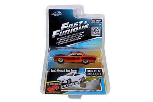 fast-furious-doms-plymouth-road-runner-155-scale-diecast-vehicle-by-build-n-collect