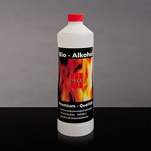 Bio Alkohol 6x 1 Liter im Karton Bioethanol Bio-Ethanol Premium Ethanol Alkohol Alfra Alfratol (Bio-getreide Alkohol)