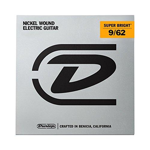 Dunlop desbn0962Hybrid Super Bright Nickel Gitarre Saite Kit (7Stück) (7-string Electric Guitar Kit)