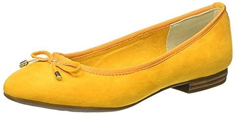 Marco Tozzi Damen 22135 Geschlossene Ballerinas, Orange (Mango 637), 39 EU